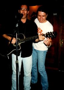 Tony Gamble and Hal Aaron