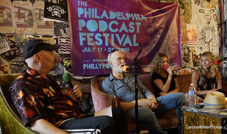 philly podfest at tattoed moms hal. dan, lizanne, ciara